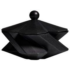 Lara Bohinc, Fortress Treasury Box, Iron Ceramic, in Stock