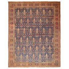 """Large Antique Persian Bakshaish Rug. Size: 14'9"""" x 18'2"""""""