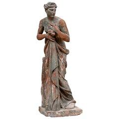 Large Antique Terracotta Figure of Venus