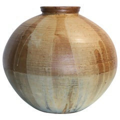 Large Ceramic Hand Thrown Pot Pottery