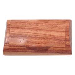 Large Scatola Portapillole Wooden Pillbox by Bottega Ghianda