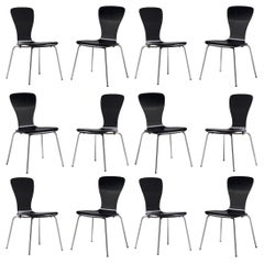Large set of 'Nikke' Dining Chairs by Tapio Wirkkala