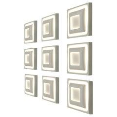 Large Set of Sconces by Doria Leuchten