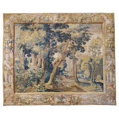 Late 17th Century Franco-Flemish Verdure Tapestry