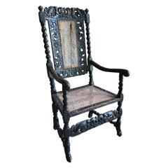 Late 17th Century William and Mary Armchair