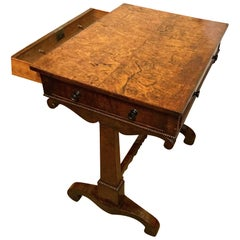 Late 18th Century Burr Elm Side Table, circa 1790