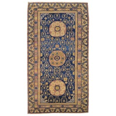 Late 19th Century Samarkand Rug Design of Central Medallions
