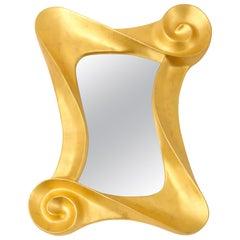 Lawrence De Martino 24-Karat Gold Leaf Mirror