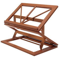 Gae Aulenti Leggio d'Orsay Collapsable Wooden Book Stand by Bottega Ghianda