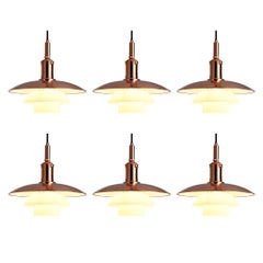 Limited Edition Poul Henningsen PH 3 1/2 Pendant in Copper