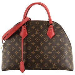 Louis Vuitton Alma BNB Handbag Monogram Canvas