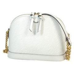 LOUIS VUITTON alma Mini Womens shoulder bag M51407 white