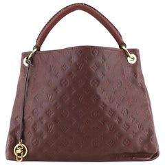Louis Vuitton Artsy Handbag Monogram Empreinte Leather MM