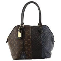 Louis Vuitton  Blocks Zipped Tote Limited Edition Monogram