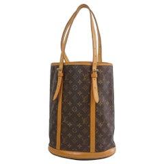 LOUIS VUITTON bucket GM Womens tote bag M42236 brown