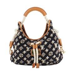 Louis Vuitton Bulles Handbag Monogram Nylon MM
