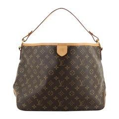Louis Vuitton Delightful Handbag Monogram Canvas MM