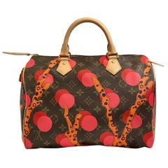 Louis Vuitton Limited Edition Speedy 30 Grenade Ramages Monogram Canvas Purse
