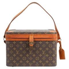 Louis Vuitton Monogram Trunk Vanity Case