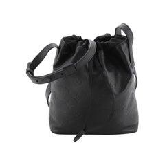 Louis Vuitton Nano Bag Monogram Shadow Leather