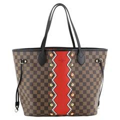 Louis Vuitton Neverfull NM Tote Limited Edition Damier Karakoram MM