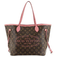 Louis Vuitton Neverfull Tote Limited Edition Ikat Monogram Canvas MM