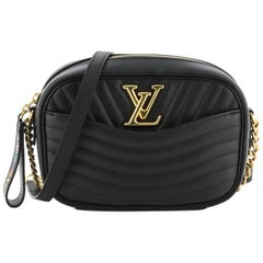 Louis Vuitton New Wave Camera Bag Quilted Leather