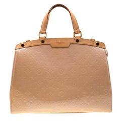 Louis Vuitton Noisette Monogram Vernis Brea GM Bag