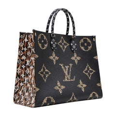 Louis Vuitton Onthego Jungle collection 2019 NEW Full set
