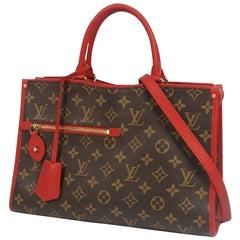 LOUIS VUITTON Popincourt PM Womens shoulder bag M43433 Rouge