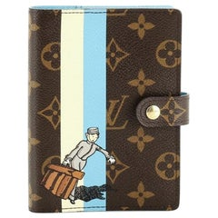 Louis Vuitton Ring Agenda Cover Limited Edition Monogram Canvas PM