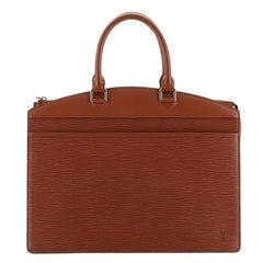 Louis Vuitton Riviera Handbag Epi Leather