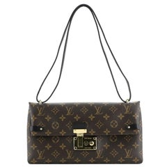Louis Vuitton Sac Triangle Handbag Monogram Canvas PM