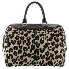 Louis Vuitton Speedy Handbag Limited Edition Stephen Sprouse Leopard Chenille