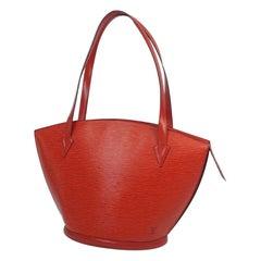 LOUIS VUITTON St. Jaques shopping Womens tote bag M52267 castilian red