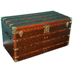 Louis Vuitton Trunk, Louis Vuitton Steamer Trunk, Louis Vuitton Courrier Trunk