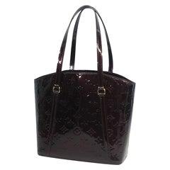 LOUIS VUITTON Verni rose wood Avenue Womens shoulder bag M91567 Amaranto