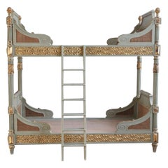 Louis XVI Style Bunk Beds/Matching Pair of Single Beds Made by La Maison, London