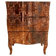 Louise Demi Semainier in Copper Over Teak by Paul Mathieu for Stephanie Odegard