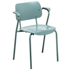 Lukki Chair in Sage Green by Ilmari Tapiovaara & Artek