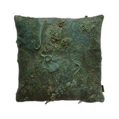 Maharam Pillow, Drenthe Heath by Claudy Jongstra, Sies Marjan Limited Edition