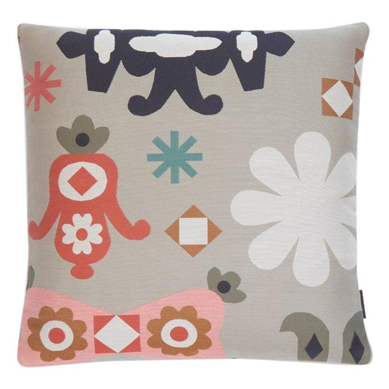 Maharam Pillow, Mela by Sonnhild Kestler For Sale