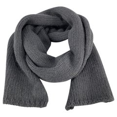 MARC JACOBS Navy Cashmere Scarf