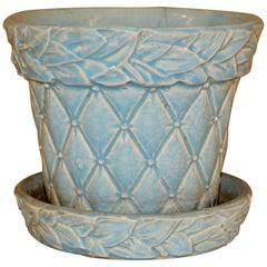 McCoy 1949 Turquoise Flower Pot