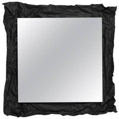 Medium Wow Mirror in Black by Uto Balmoral & Mogg