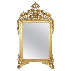 Mercury Mirror, Made in Italy, Mid-19th Century