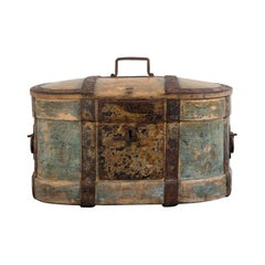 Mid-19th Century Swedish Travel Box