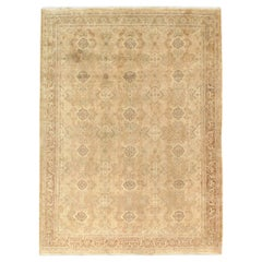 Mid-20th Century Handmade Indian Lahore Accent Rug