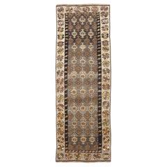 Mid-20th Century Handmade Turkish Anatolian Gallery Rug