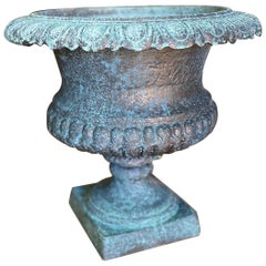 Midcentury Bronze Finish Urn